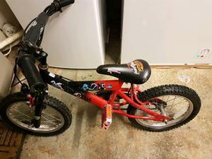 Boys power ranger bike