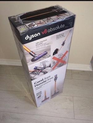 Brand new Dyson V8 Absolute Vacuum in box