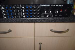 FROUNT LINE-8-MIXER 4 CHANNEL/MADE IN JAPAN/CAN BE SEEN WORKING