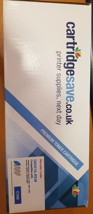 HP  Colour Laser Toner Cartridge - QA CYAN - NEW