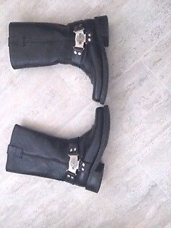 Harley Davidson Roadking Motorcycle Windscreen/and Motorcycle Boots