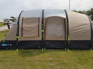 Kampa Southwold 4 + 2 AirFrame Tent Used once... Air beam / Inflatable tent
