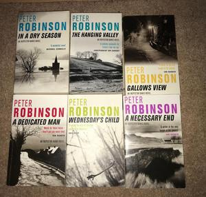 Peter Robinson Books
