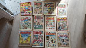 VARIOUS COMICS AS SHOWN. ALL IN GREAT CONDITION IN ALL MORE