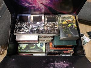 Various Warhammer Books