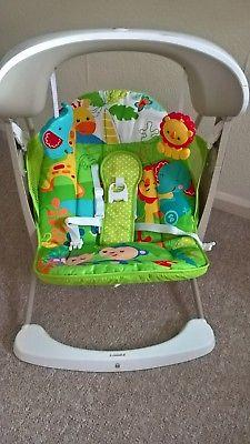 Fisher Price Rainforest Swing Seat - Almost breand new