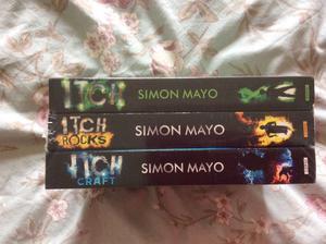 ITCH series. Simon Mayo books x 3. Brand new