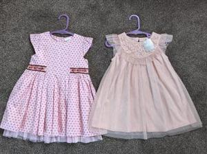Baby Girls Dresses (NEXT) age mths
