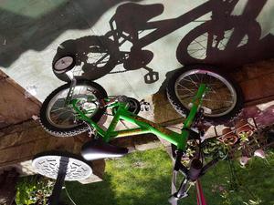 Boys bike with stabilizers 12 inch wheel