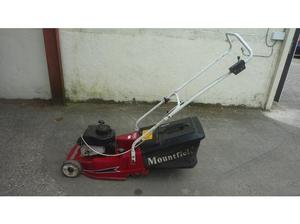 Mountfield petrol roller mower in Uckfield