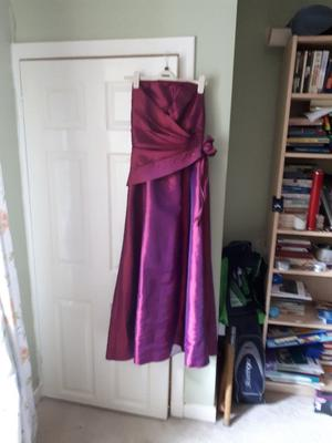 Nine dresses for sale...all high quality and rarely worn. Bargains!