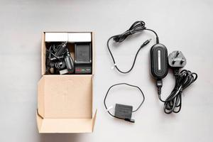 Panasonic GX8 Camera Accessories (Batteries + AC adapter + Coupler) - Like New - Micro Four Thirds