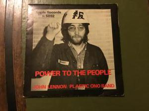 R  John Lennon power to the people/open your box 45 GC