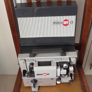 Vintage Eumig Super 8 cine film projector