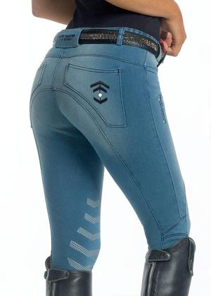 Details About Ruggles Stretch Denim Style Breeches Posot