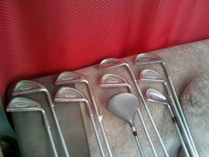 FANTASTIC SET OF 10 GOLF CLUBS,VERY GOOD CONDITION