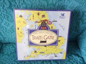 New boxed The Great British Train Game(Readers Digest)The Trivia Game that has our country covered