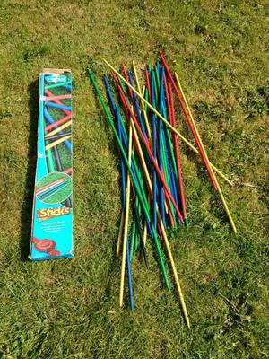 Outdoor Pick up Sticks game