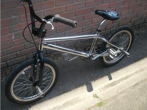 Chrome BMX Bike in Gosport