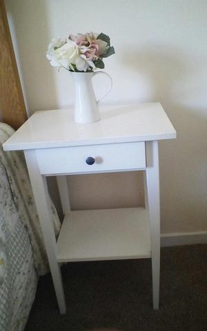 Ikea Hemnes bedside tables X2