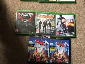 Loads new Xbox one games for sale from £5 each upto £25 each ask for prices see all pictures