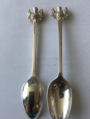 Scottish silver spoons