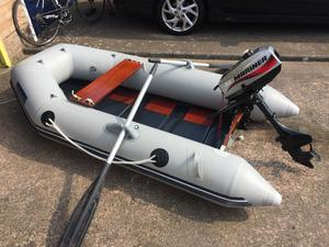 Seago 230 Boat tender with 3.3hp Mariner Outboard *Very little use*