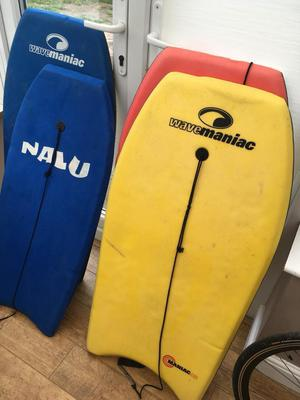 Set of 4 body / boogie boards