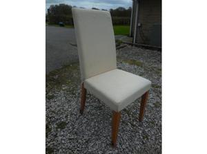 Set of 4 comfy dining chairs in Matlock