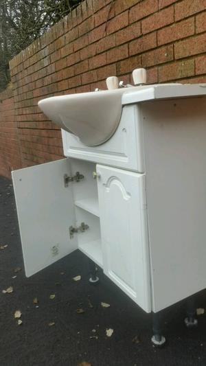 Sink and cabinet for sale