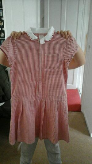 3 girls school summer dresses age