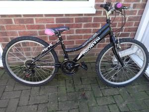 """GREAT GIRLS 24"""" WHEELED BIKE CONCEPT JUNIOR DIAMOND. GOOD CONDITION, ALL FULLY WORKING,READY TO RIDE"""
