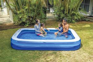 Giant Inflatable Kiddie Pool Family And Kids Rectangular
