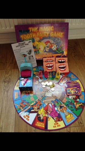magic tooth fairy game instructions