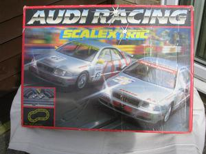 """SCALEXTRIC Set CP """"AUDI RACING"""":USED:2 x AUDI A4 Series"""