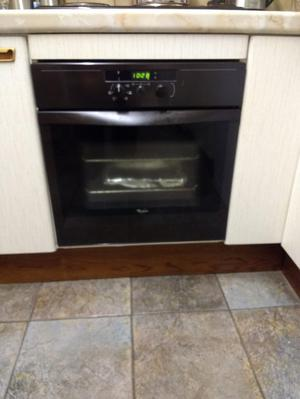Single oven and grill (Whirlpool)