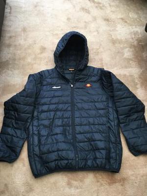 Ellesse Padded Mens Jacket With Hood In Black XL