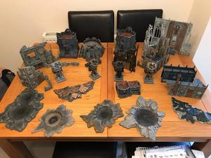 Games workshop warhammer 40k scenery
