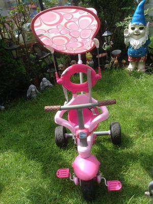 MAY SALE! REDUCED! Pink kids 1st push along bike/trike