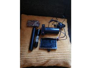 Night vision add on needs new battery plus silencer paid 80