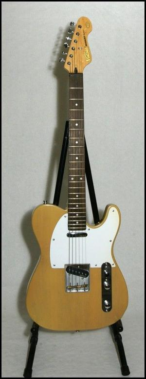 Vintage (the make, not the age) V62 tele-style electric guitar