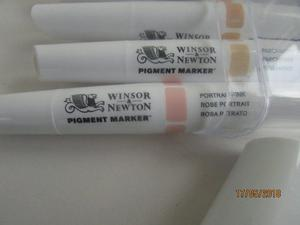 WINSOR & NEWTON PIGMENT MARKERS SET OF 6
