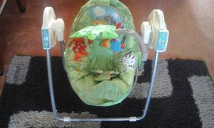 fisher price,musical [or not] self swinging chair