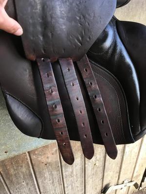 "16.5"" M Jefferies Hawk Alder VSS saddle brown"