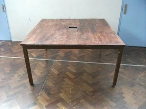 Custom Made Large Table. The top is made of wood. Size: H=78cm, W=150cm, D=147cm