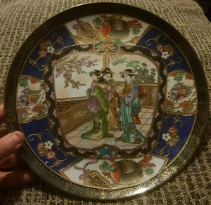 Genuine Antique chinese plate