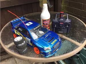 KYOSHO SUBARU IMPREZA WRC  I C RALLY CAR in Birmingham