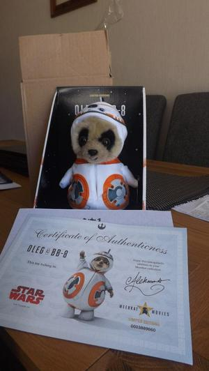 Star wars limited edition Oleg as BB-8 brand new in box