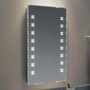 Basin cabinet and led mirror