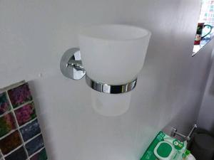 John Lewis toothbrush holder wall mounted x 2
